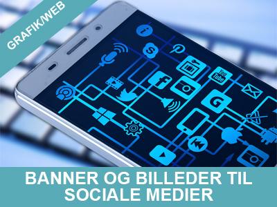 banner og billeder til sociale medier