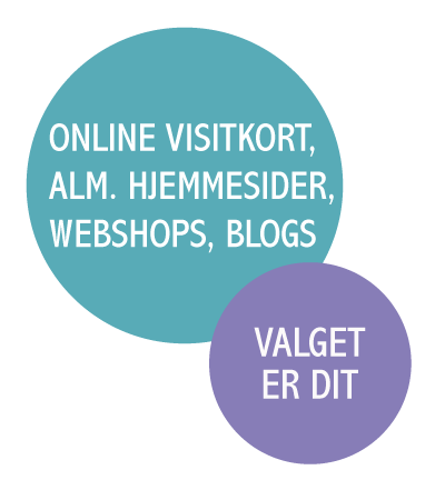 forskellige typer hjemmesider du kan få lavet hos wolfdesign
