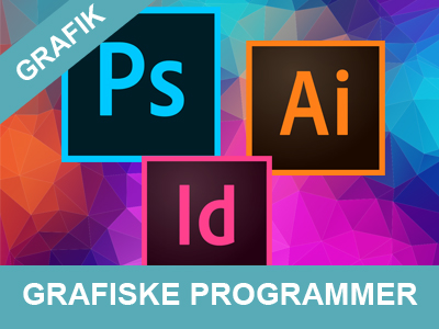 kurser og undervisning i grafiske programmer fra Wolfdesign
