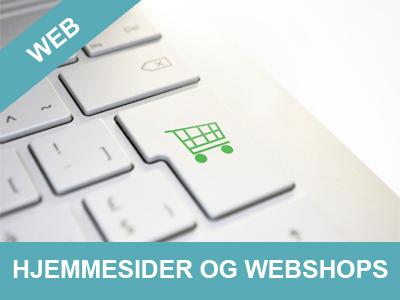 Hjemmesider og webshops - Få dem lavet hos Wolfdesign