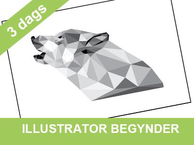 illustrator begynderkursus i 3 dage - kom godt igang med wolfdesign