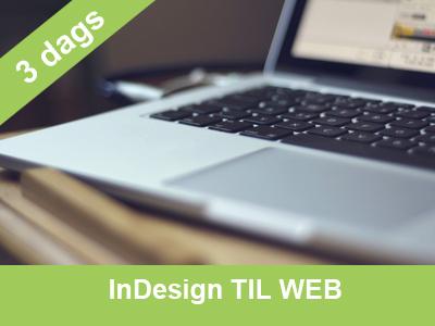kursus i indesign til web hos Wolfdesign