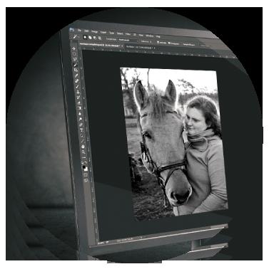 Redigering af dine billeder hos Wolfdesign