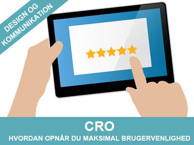 CRO - opnår maksimal brugervenlighed for din hjemmeside eller webshop