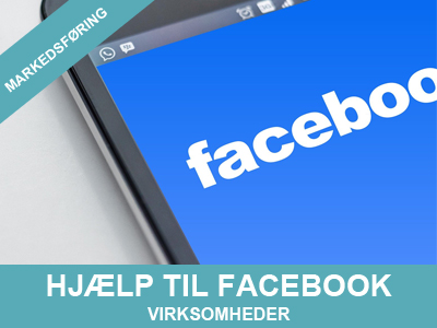 Hjælp med facebook for virksomheder
