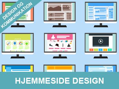Hjemmeside design - kurser og undervisning fra wolfdesign