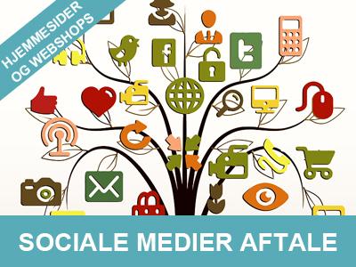 sociale medier aftale få en til at holde øje med din hjemmeside