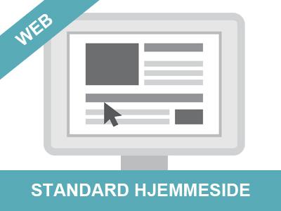 standard hjemmeside fra Wolfdesign