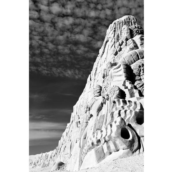 Sand and sky - sort/hvid fotografi - Plakater fra Wolfdesign