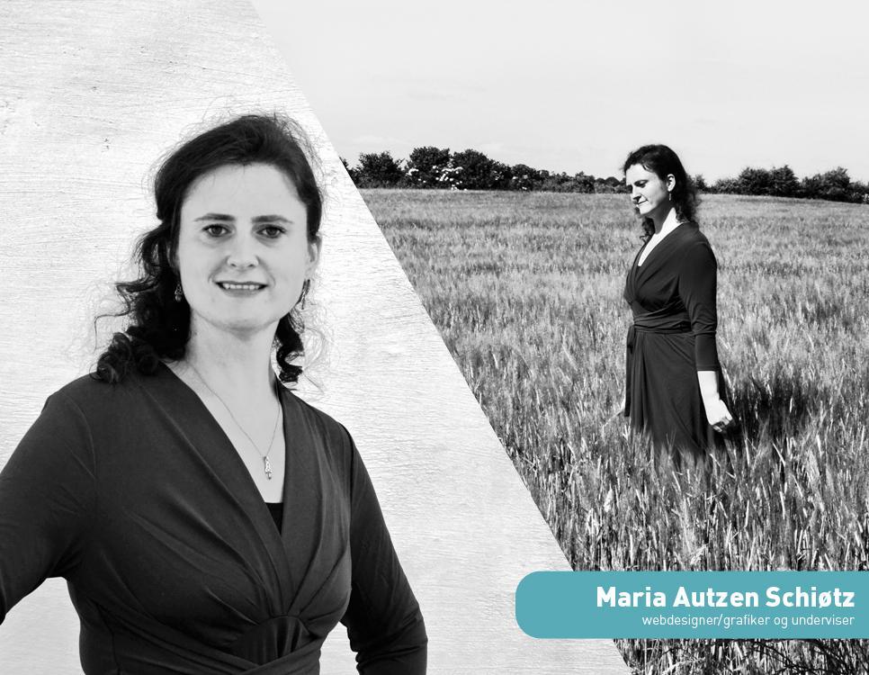 Maria Autzen Schiøtz ejer af Wolfdesign webdesigner grafiker og underviser