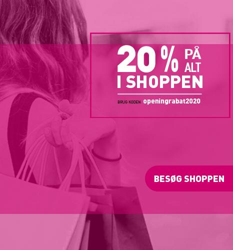 besøg wolfdesign shoppen - lige nu 20 % på alt