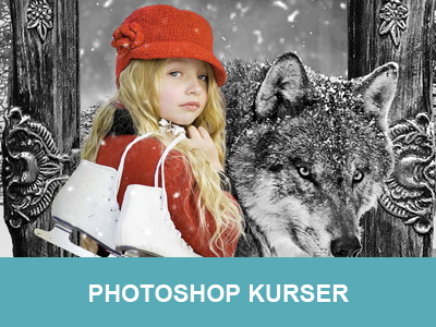 photoshop kurser hos Wolfdesign