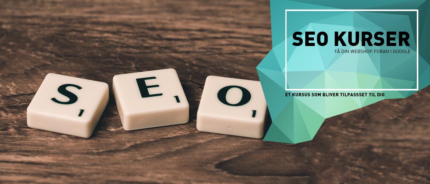 Seo kurser til almindelig hjemmesider og webshops
